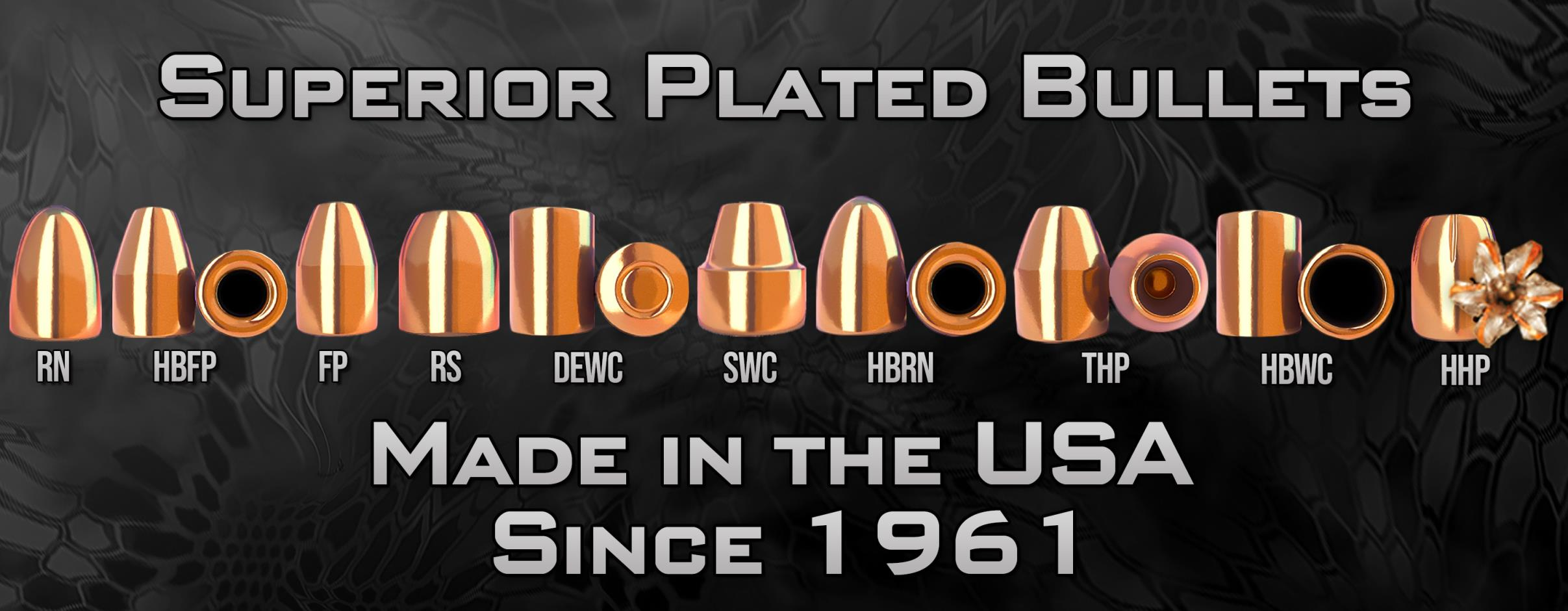 Berry's Manufacturing - Superior Plated Bullets, Reloading