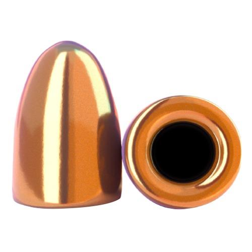 9mm 124gr Hollow Base Round Nose Thick Plate