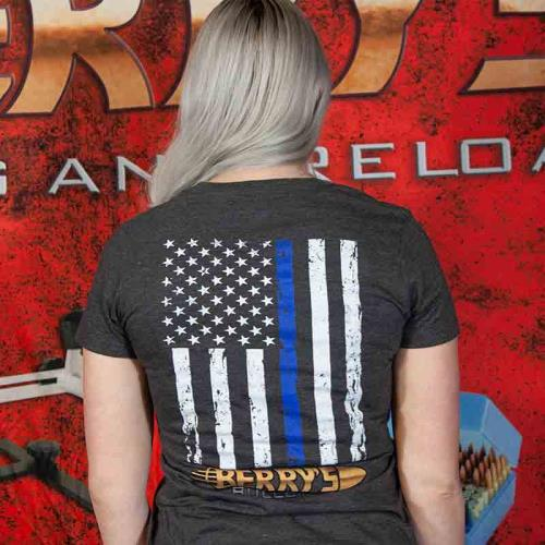 Berry's Blue Lives Matter Women's T-Shirts