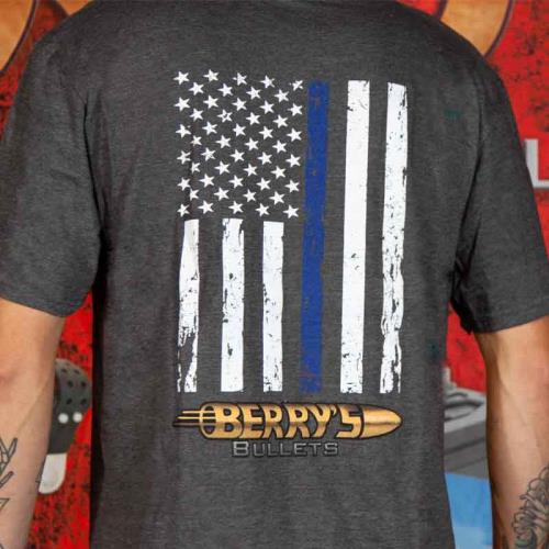 Berry's Men's Blue Lives Matter T-Shirts