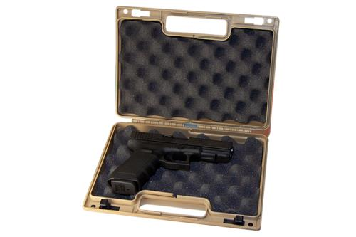 Tan Single Pistol Case