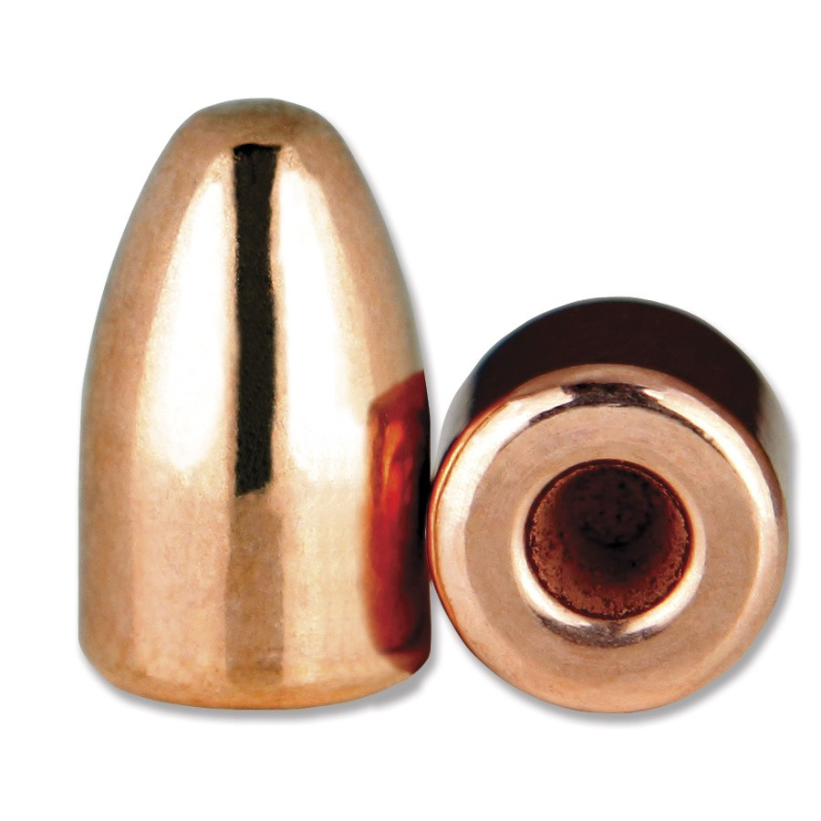 9mm 124 gr Hollow Base Round Nose Thick Plate